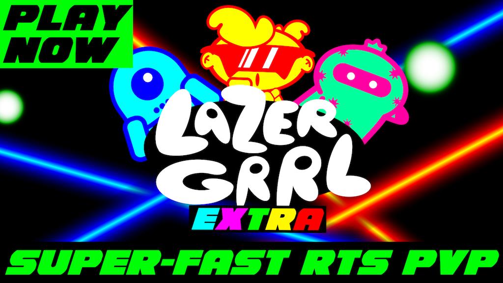LazerGrrl: Extra project video thumbnail