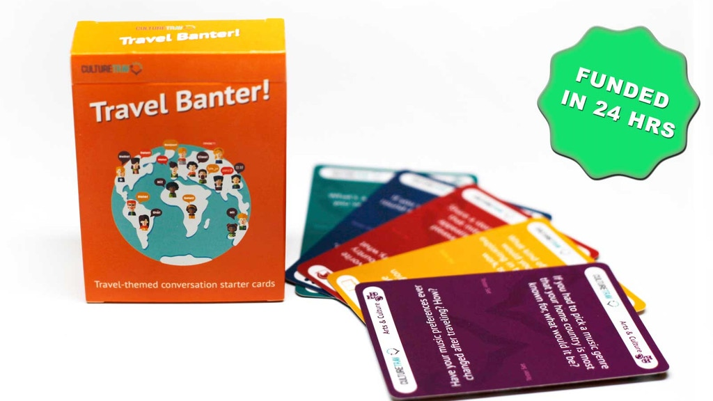 Travel Banter: A Conversation Starter Game project video thumbnail