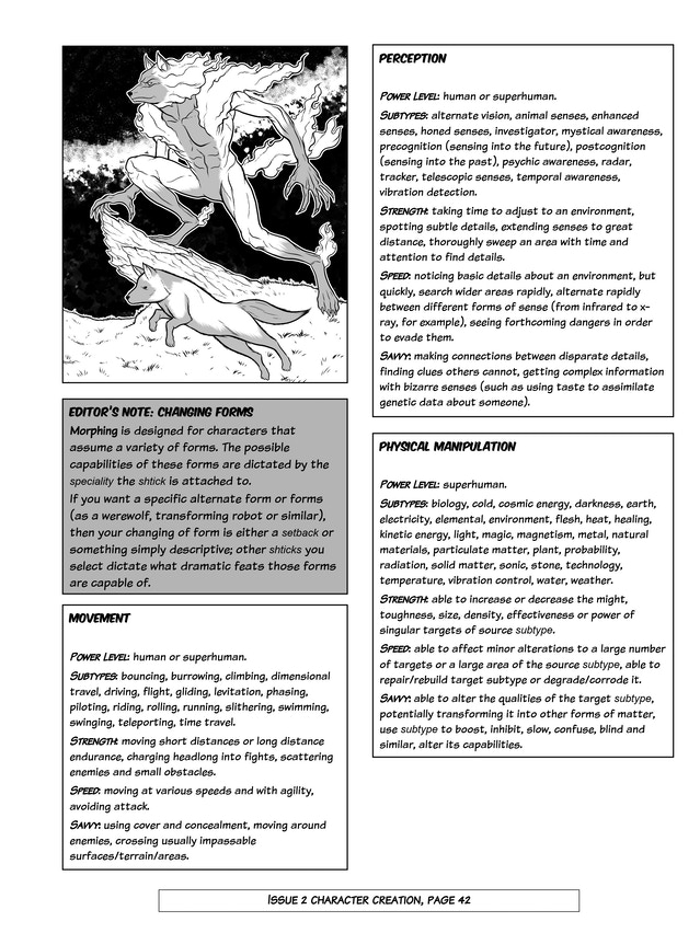 IS IT A PLANE!?: comic book RPG that replaces dice with pens
