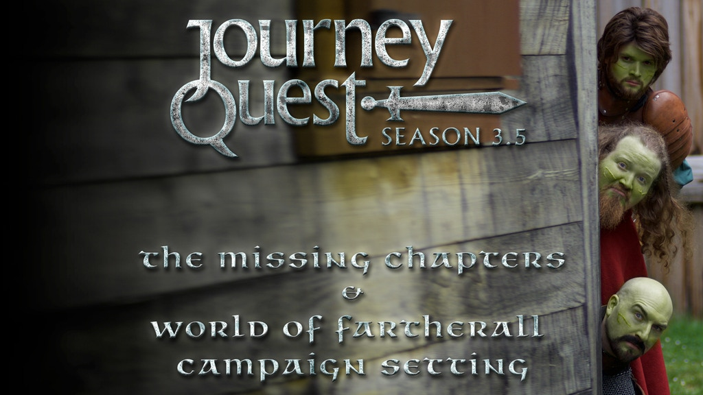 JourneyQuest 3.5 & Campaign Setting project video thumbnail