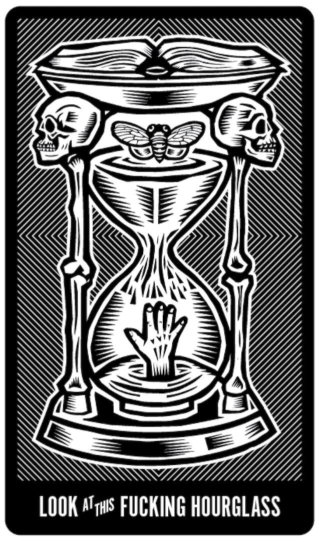 Arcane Bullshit Tarot by Evan Doherty — Kickstarter