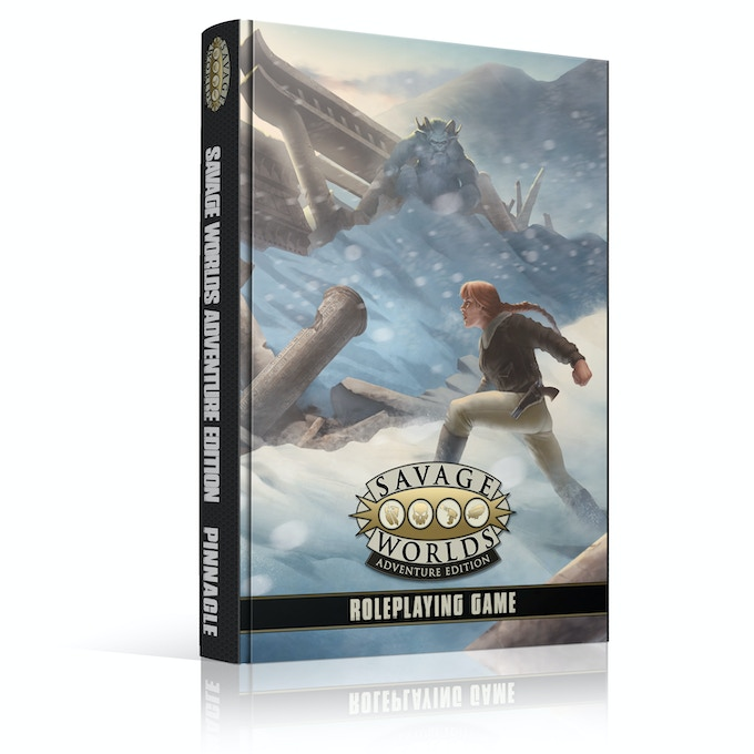 """The new Adventure Edition of the best-selling, multiple-award winning """"Fast! Furious! Fun!"""" Savage Worlds Roleplaying Game!"""