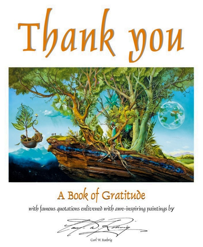 """""""Thank You"""" Book Cover"""