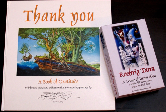 """The """"Thank You"""" Book with Tarot Box"""