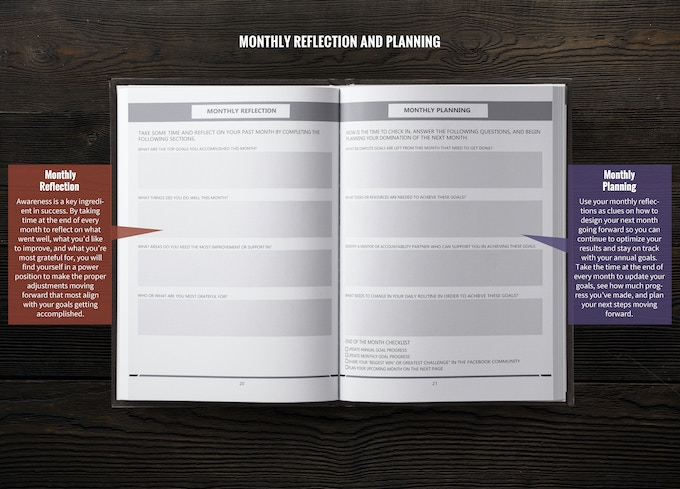 The Rich Life Planner - Make 2019 Your Best Year Ever by