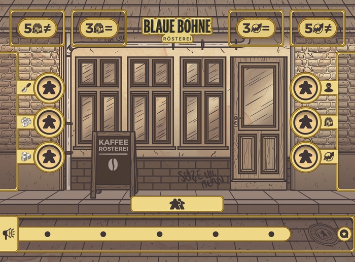 Also located in Friedrichshain but on the opposite end of the spectrum, Blaue Bohne represent the science side of roasteries (at least for us). They're also the only founders who are avid board gamers too!