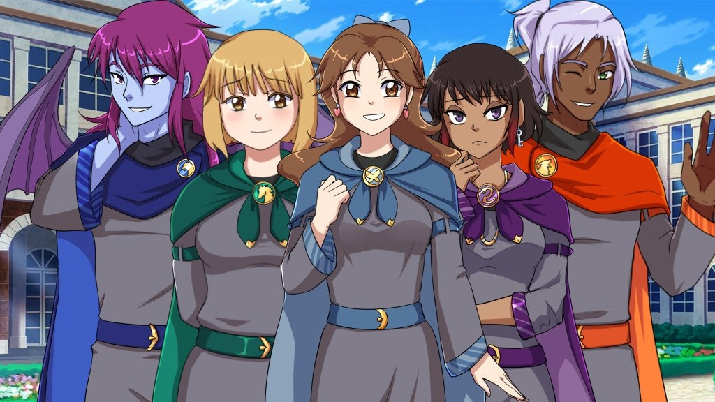 Magical Diary: Wolf Hall - Wizard School RPG + Visual Novel project video thumbnail