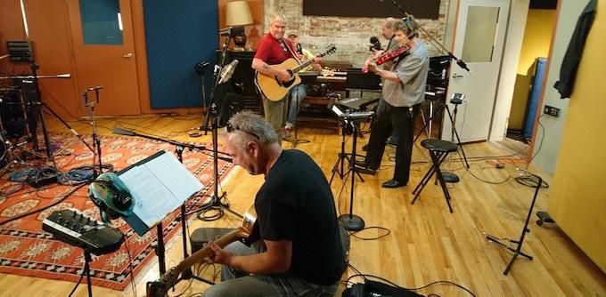 Recording at Q Division Studios
