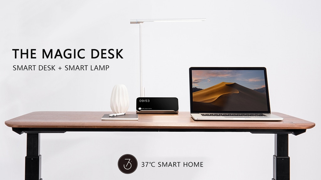 Magic Desk: the first gesture-controlled standing desk project video thumbnail