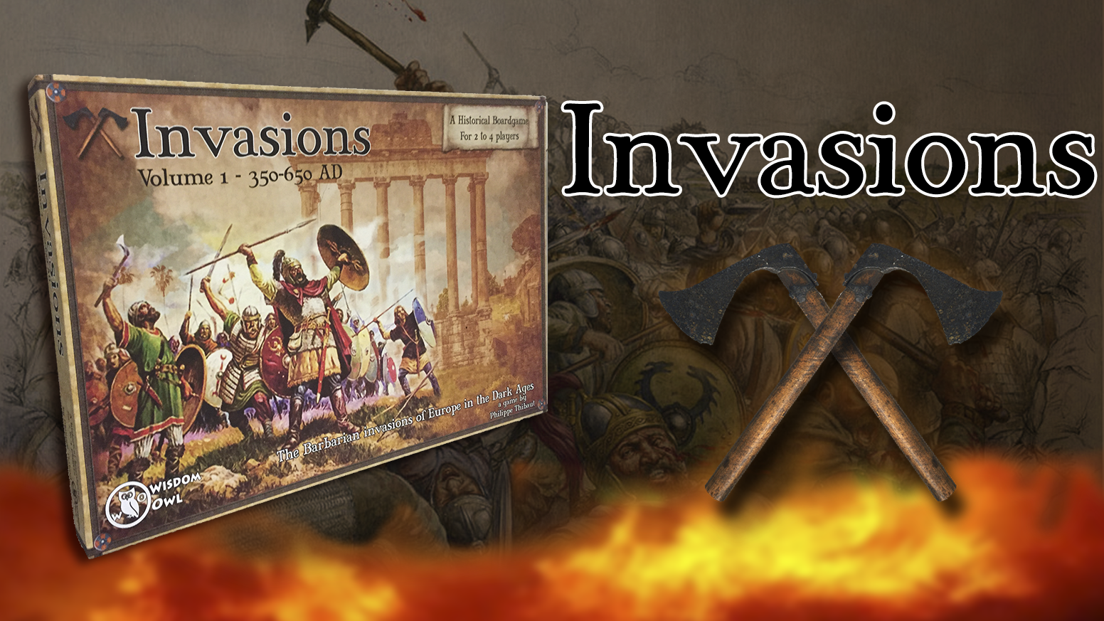 A boardgame on the Dark Ages of Invasions