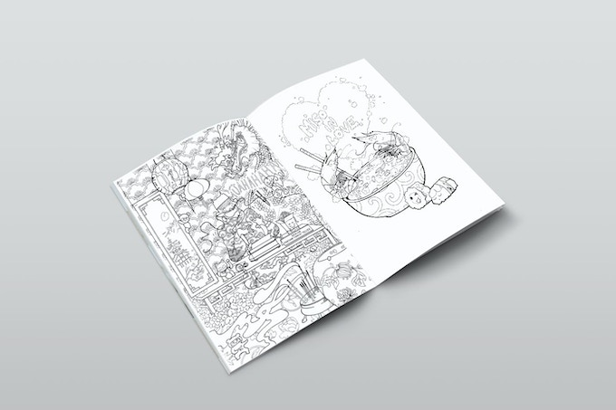 Each page has a different level of difficulty so you can choose how detailed and challenging you want your design to be