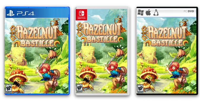 Every Console Unlocked via Stretchgoals will be available to choose as both Digital and Physical Copies!