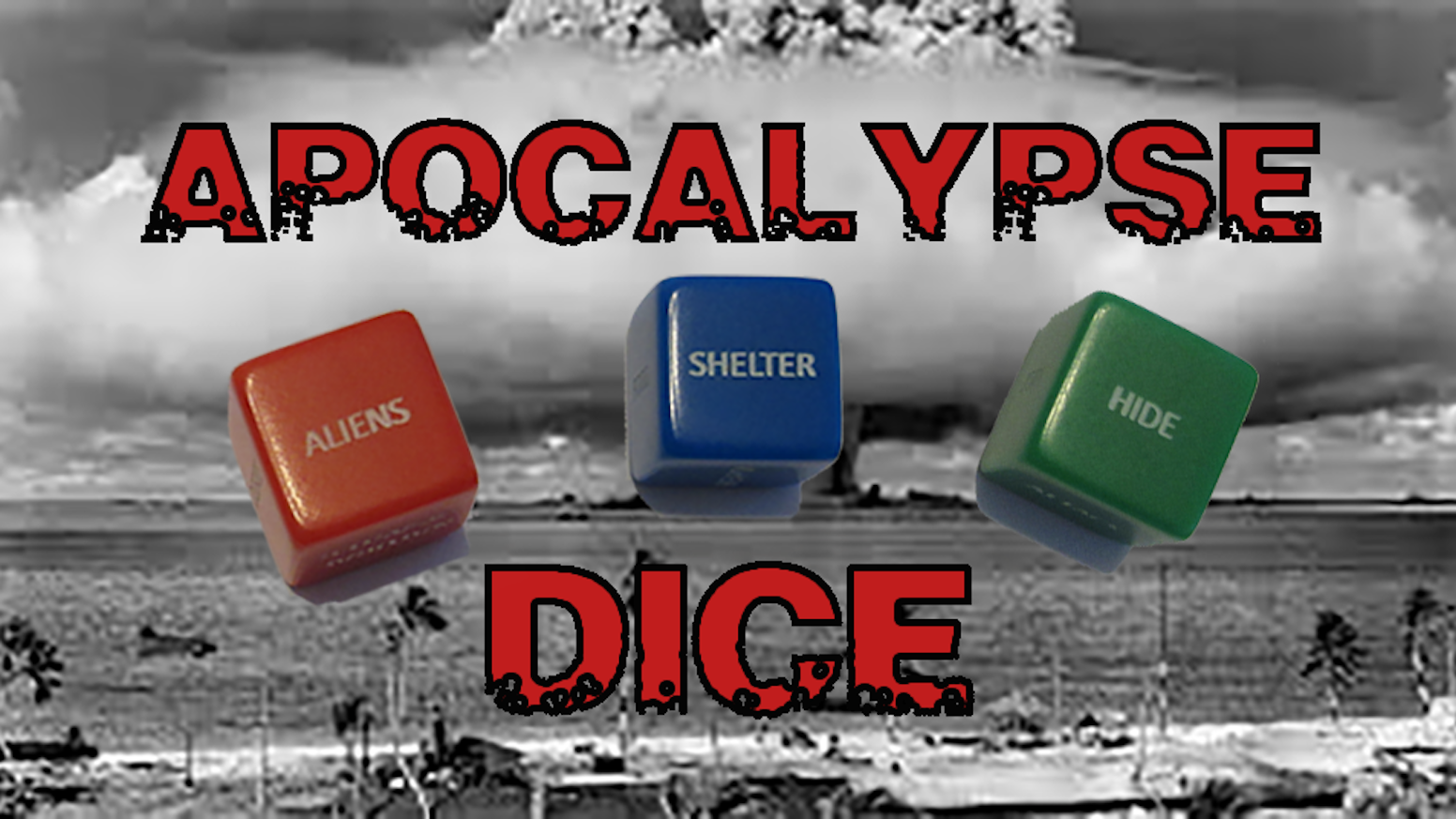"Apocalypse ""Action"" Dice will be invaluable in keeping you alive in the upcoming apocalypse."