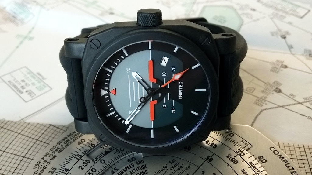 Automatic Pilot Watches Inspired By Aircraft Instruments project video thumbnail