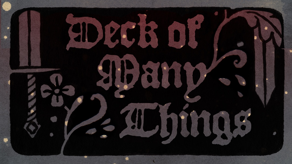 Deck of Many Things with art by Stasia Burrington project video thumbnail