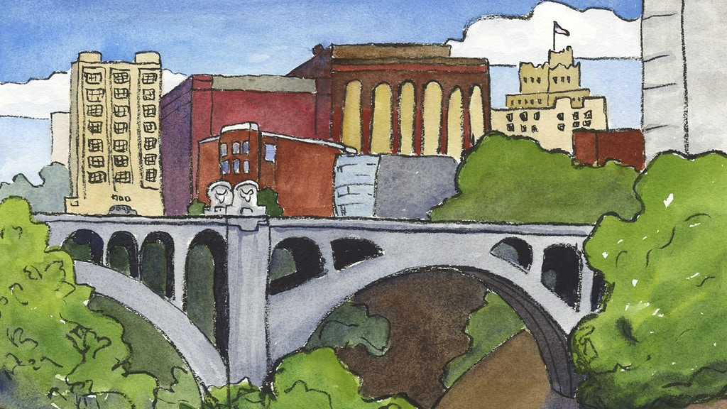 Artist's Eye on Spokane project video thumbnail