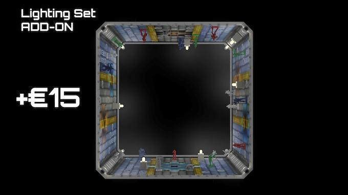 Lighting Set ADD-ON (Buring Crates + Corner Leds)