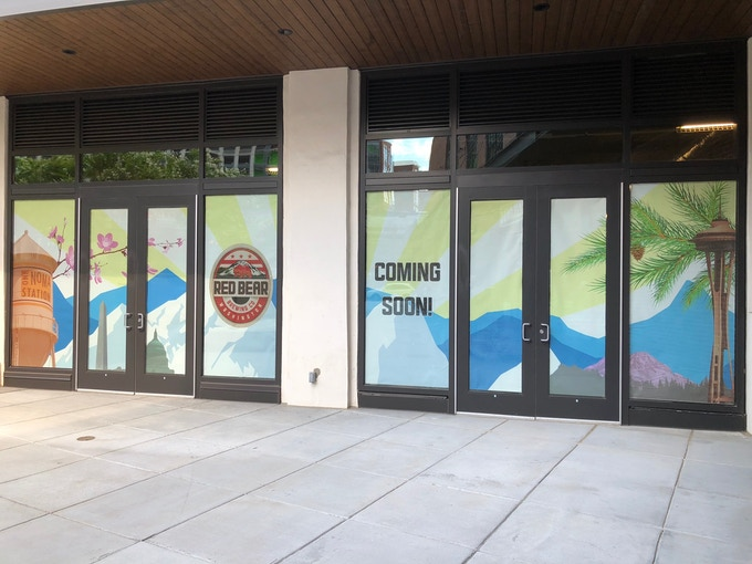 Red Bear Front Entrance!