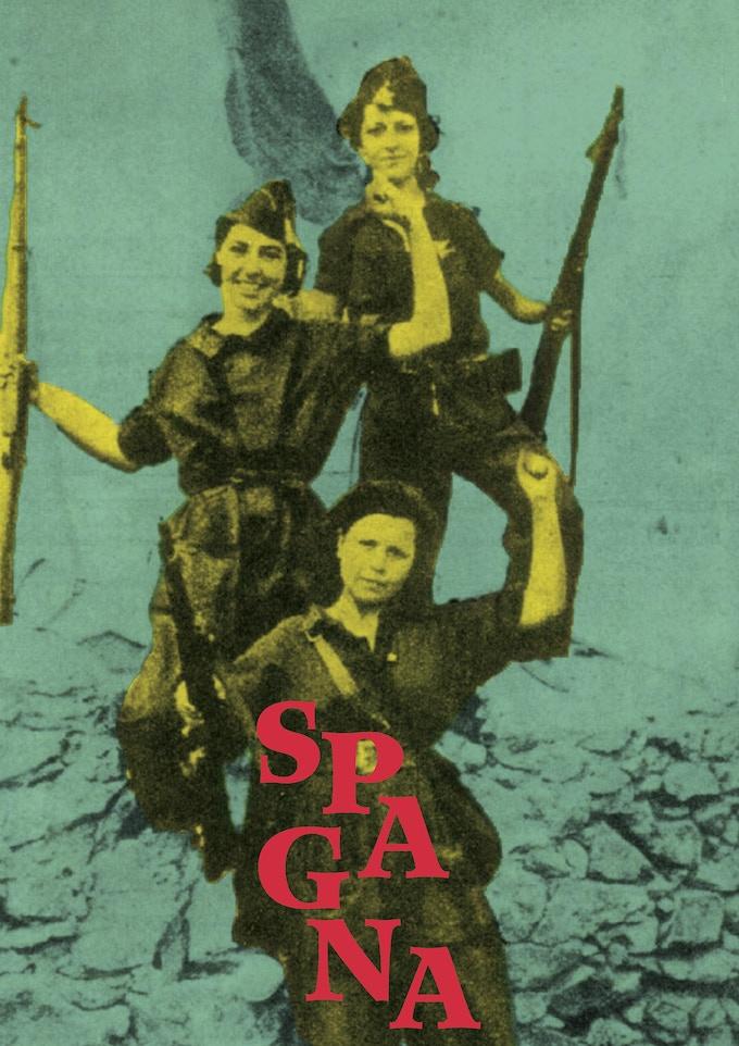 One of Dario poster, Spain-inspired