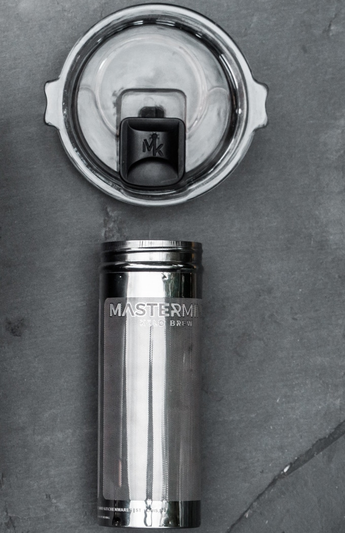 The Lite Brewer comes with only our filter and lid. Refer back to the 'MAGSEAL LID' Section to learn which tumblers this will fit.