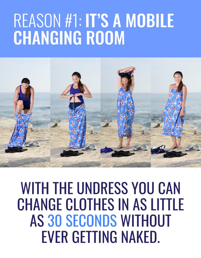 a1ebade234f7 Woman regularly change clothes in the wildest of places - fighting sports  bras