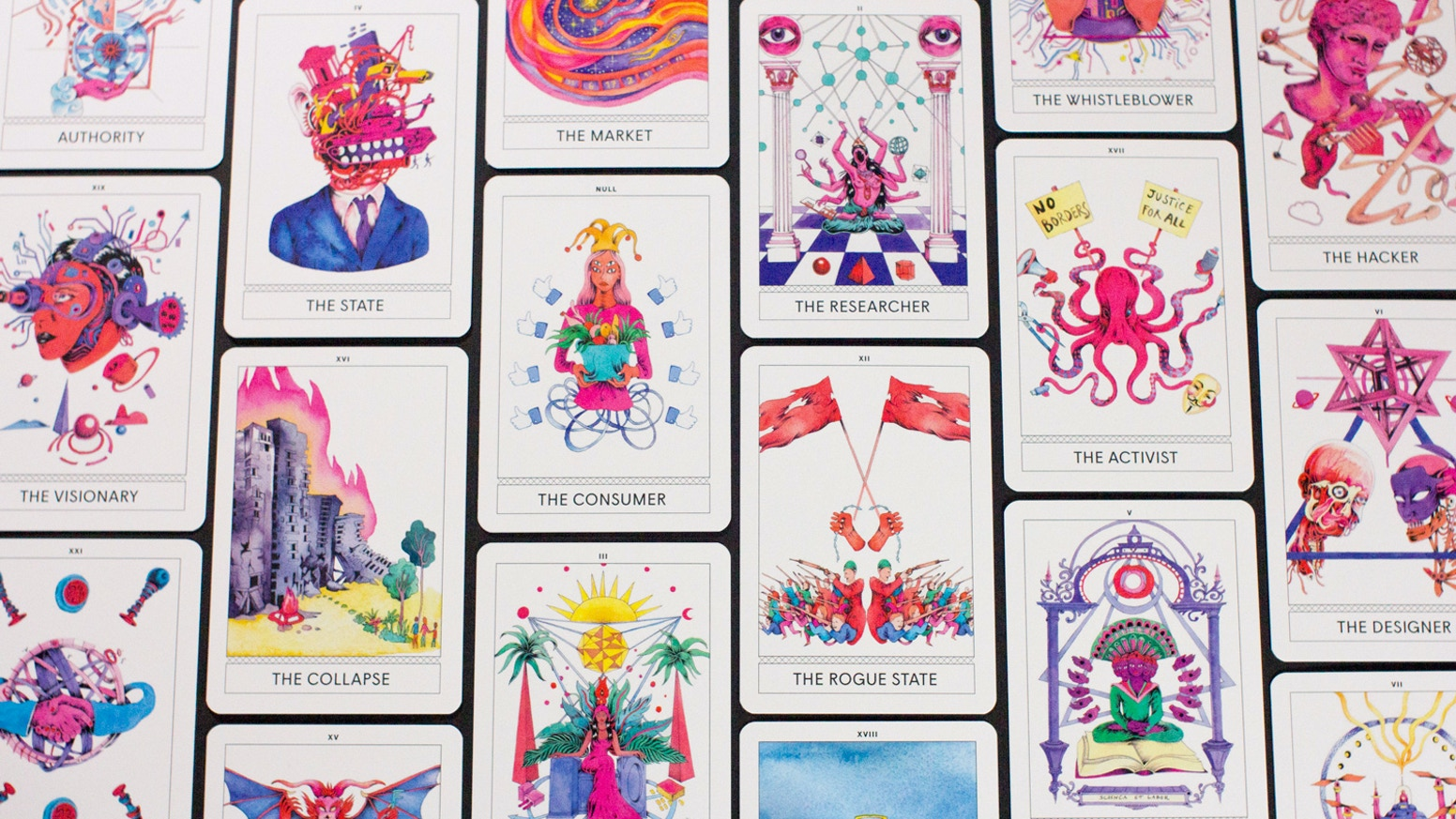 Explore new perspectives and multiple futures. Help us birth Instant Archetypes: A New Tarot for the New Normal.