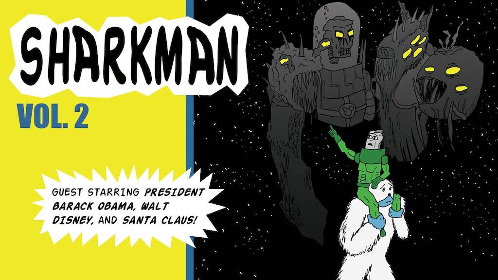 SHARKMAN vol. 2: Sharkman and Bigfoot project video thumbnail