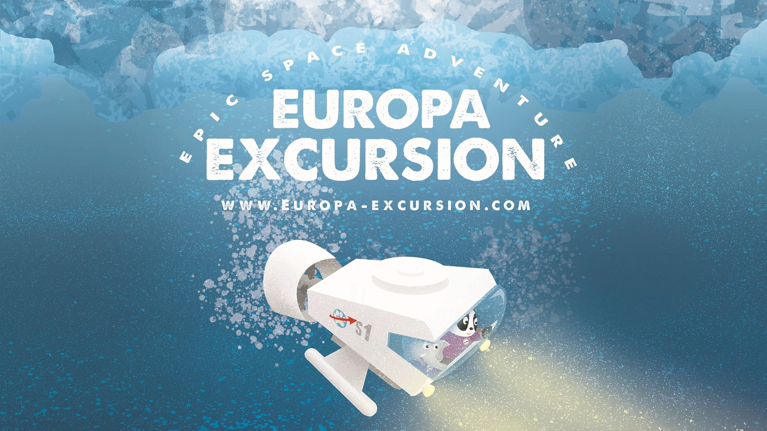 Your favorite space explorers are back! This time they're headed for Europa to rescue a submarine trapped beneath the moon's icy crust.