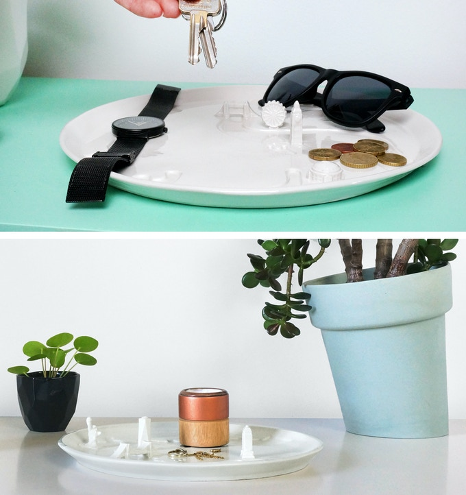 Great as a decoration piece, or to organize some items
