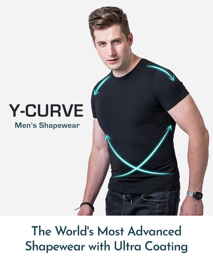 34765f9d03 Only a handful of shape-wear shirts exist which are designed for men. Built  from innovative technologies