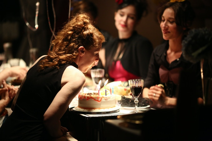 We'll throw you a birthday party, too.   photo: Paula Court