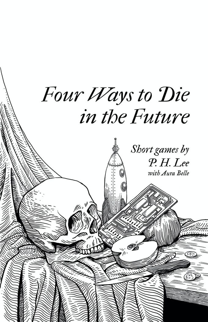 Four Ways to Die in the Future Cover