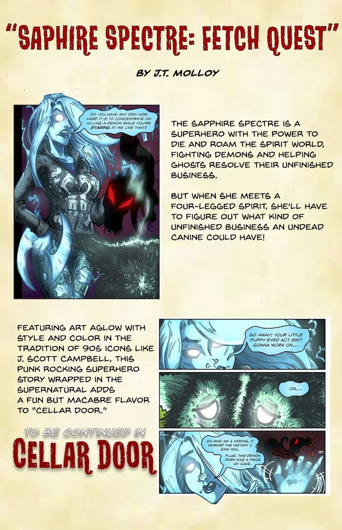 Cellar Door: A Scifi and Horror Graphic Novel Anthology by Chimera's