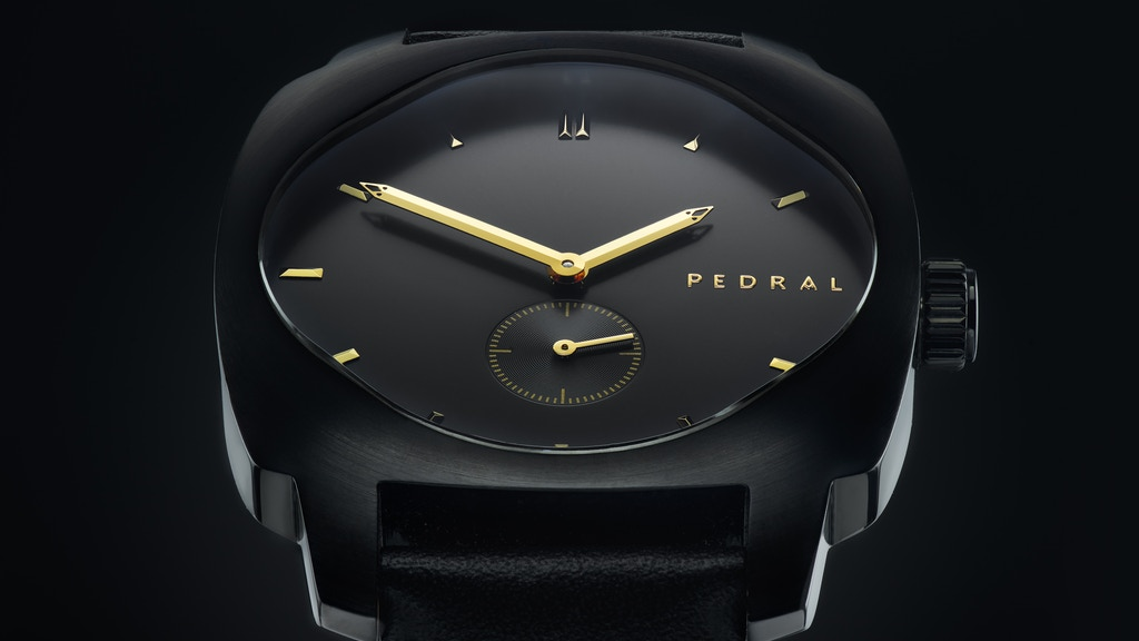 Pedral - Automatic Watches With A Bold And Iconic Design project video thumbnail