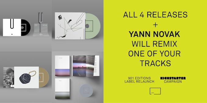 All 4 Releases + Remix by Yann Novak