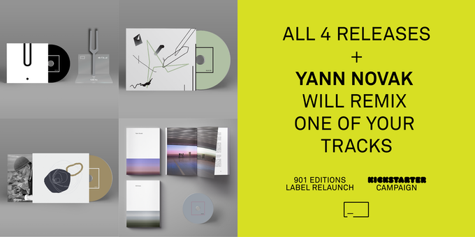 All 4 Releases + Remix by Yann Novak