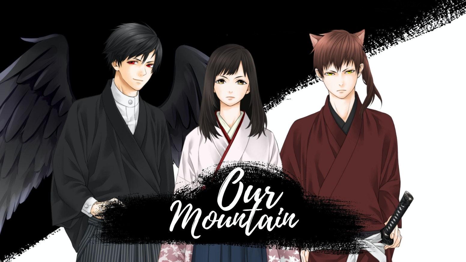A fantasy visual novel set in ancient Japan.