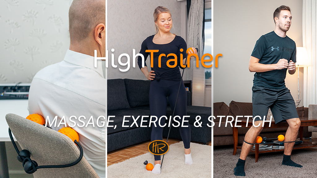 HighTrainer - Massage, Exercise & Stretch: Anytime, Anywhere project video thumbnail