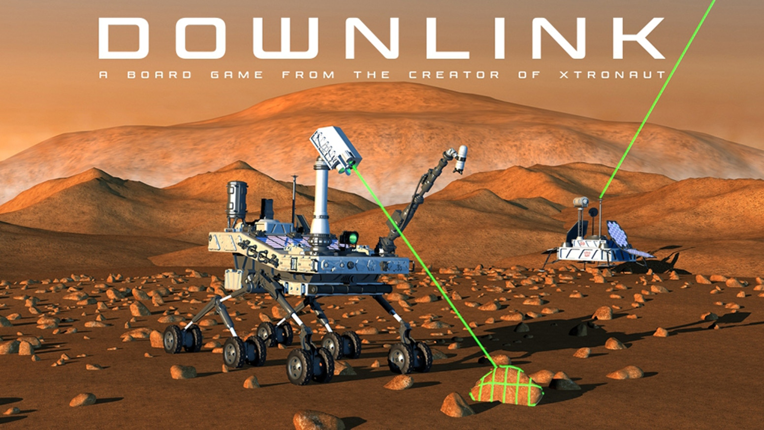 The first printing of Downlink has sold out! Look for the Premium Edition with the Sample Return Expansion in 2020!