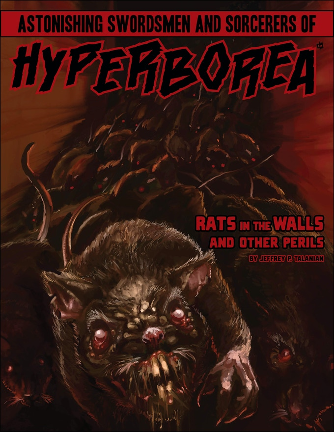 Rats in the Walls and Other Perils art by Mike Tenebrae