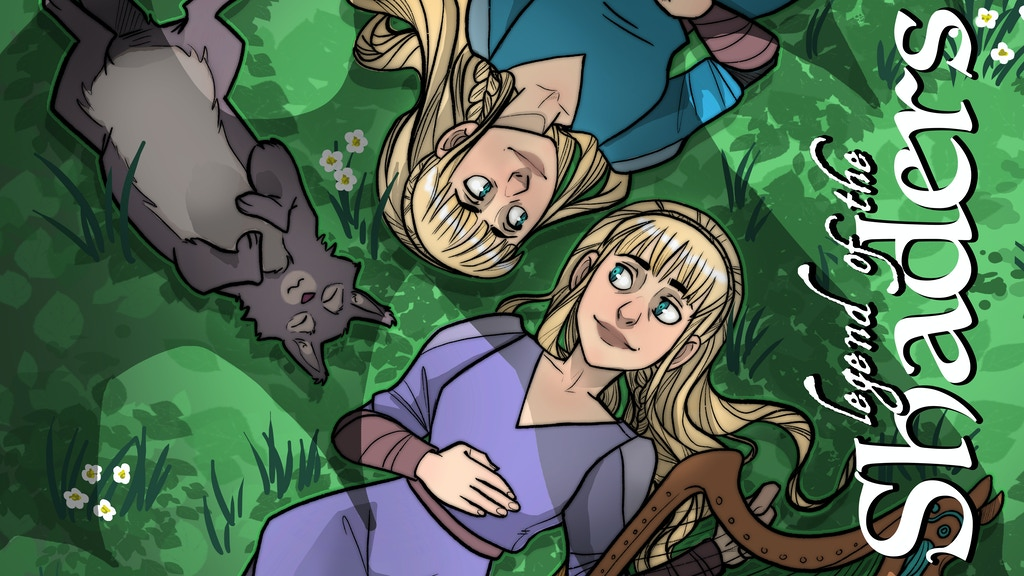 Legend of the Shaders - Harp Twins Comic! project video thumbnail