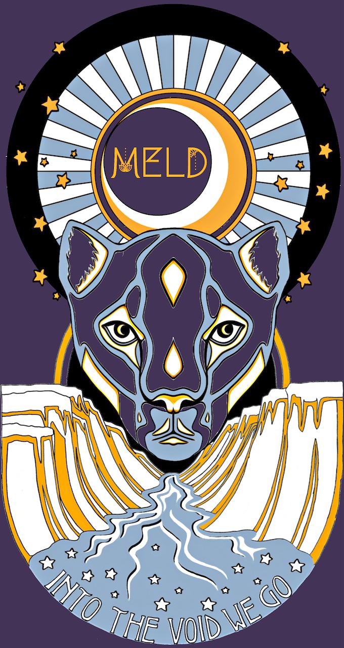 """Eyes Like A Cat"" T-Shirt Design by Miranda Arbor"