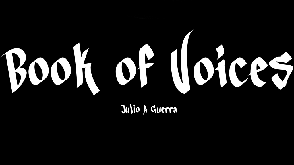 Book of Voices project video thumbnail