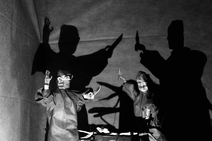 The Royal Texas Puppet Ensemble is influenced by German Expressionism.