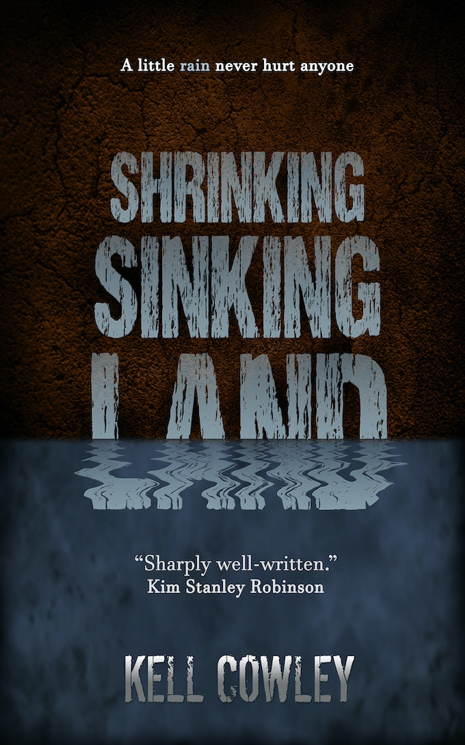 Shrinking Sinking Land, by Kell Cowley