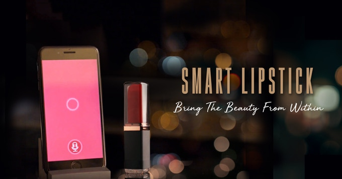 The Smart Lipstick from Vibease is one of a kind!