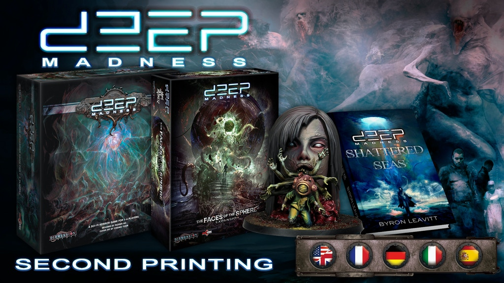 Deep Madness (Second Printing) project video thumbnail