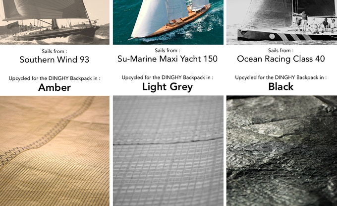 From the sails colors, we selected the materials and composed the different models.