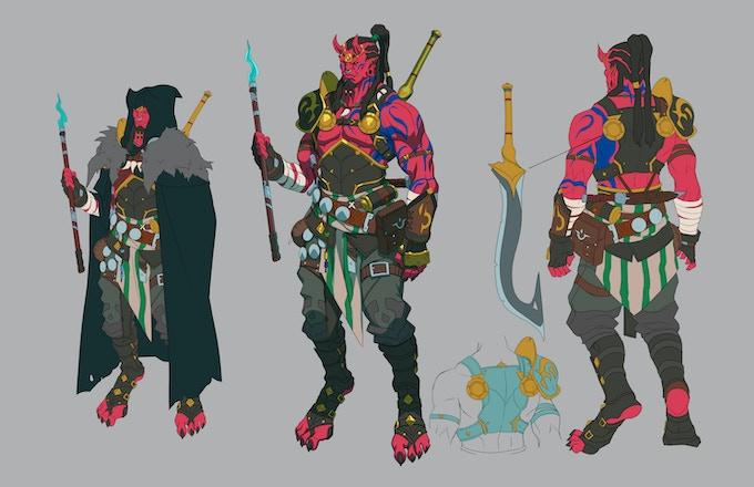 Abiku Demon - Kefu the Hunter