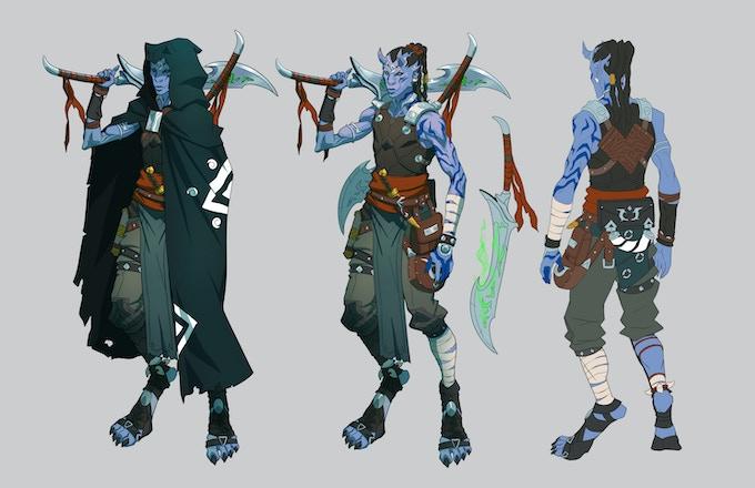 Abiku Demon - Ashaar the Apprentice